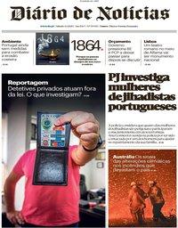 capa Diário de Notícias de 4 janeiro 2020
