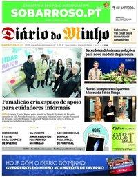 capa Diário Do Minho
