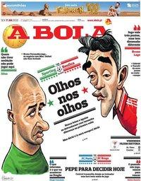 capa Jornal A Bola de 17 janeiro 2020