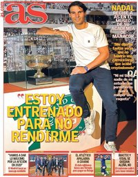 capa Jornal As de 1 janeiro 2020