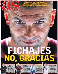 capa Jornal As de 3 janeiro 2020