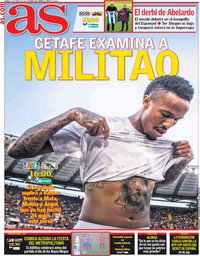capa Jornal As de 4 janeiro 2020