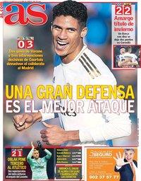 capa Jornal As de 5 janeiro 2020