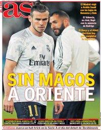capa Jornal As de 7 janeiro 2020