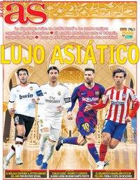 capa Jornal As de 8 janeiro 2020