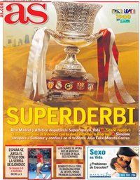 capa Jornal As de 12 janeiro 2020