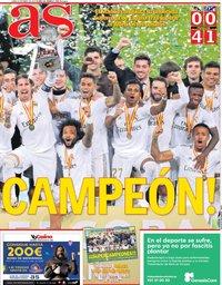 capa Jornal As de 13 janeiro 2020