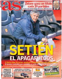 capa Jornal As de 14 janeiro 2020