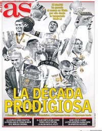 capa Jornal As de 16 janeiro 2020