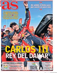 capa Jornal As de 18 janeiro 2020