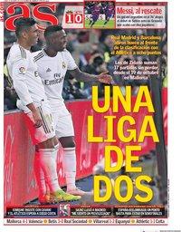 capa Jornal As de 20 janeiro 2020