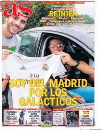 capa Jornal As de 21 janeiro 2020