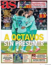 capa Jornal As de 23 janeiro 2020