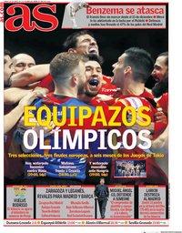 capa Jornal As de 25 janeiro 2020