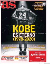 capa Jornal As de 27 janeiro 2020