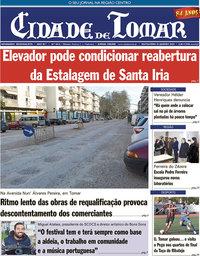 capa Jornal Cidade De Tomar