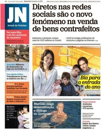 capa Jornal de Notícias de 2 janeiro 2020