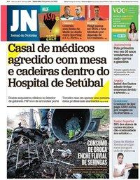 capa Jornal de Notícias de 3 janeiro 2020