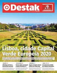 capa Jornal Destak de 10 janeiro 2020