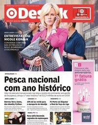capa Jornal Destak de 23 janeiro 2020
