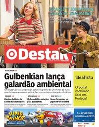 capa Jornal Destak de 30 janeiro 2020