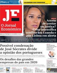 capa Jornal Económico de 3 janeiro 2020