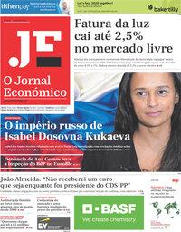 capa Jornal Económico de 10 janeiro 2020