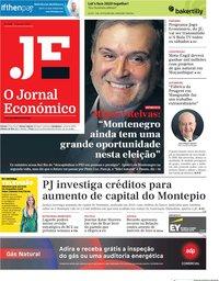 capa Jornal Económico de 17 janeiro 2020