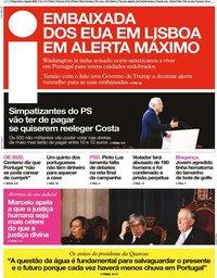 capa Jornal i de 7 janeiro 2020
