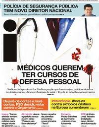 capa Jornal i de 8 janeiro 2020