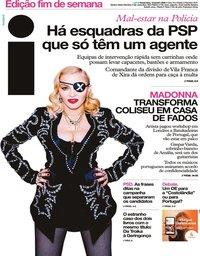 capa Jornal i de 10 janeiro 2020