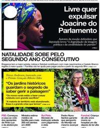 capa Jornal i de 14 janeiro 2020