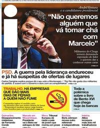 capa Jornal i de 15 janeiro 2020