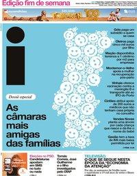 capa Jornal i de 17 janeiro 2020