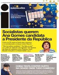 capa Jornal i de 23 janeiro 2020