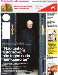 capa Jornal i de 24 janeiro 2020