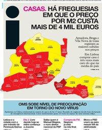 capa Jornal i de 30 janeiro 2020