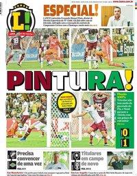 capa Jornal Lance! Rio de Janeiro de 30 janeiro 2020