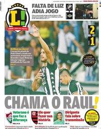 capa Jornal Lance! Rio de Janeiro de 31 janeiro 2020