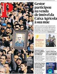 capa Público de 4 janeiro 2020