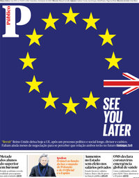 capa Público de 31 janeiro 2020