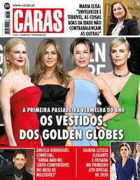 capa Revista Caras de 9 janeiro 2020