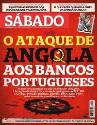 capa Revista Sábado de 30 janeiro 2020