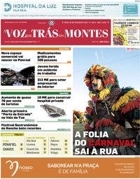 capa A Voz de Trás-os-Montes