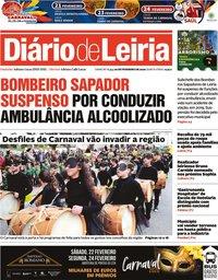 capa Diário de Leiria