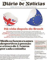 capa Diário de Notícias de 1 fevereiro 2020