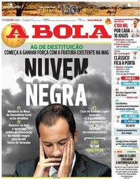 capa Jornal A Bola de 4 fevereiro 2020