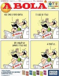 capa Jornal A Bola de 8 fevereiro 2020