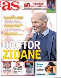 capa Jornal As de 3 fevereiro 2020