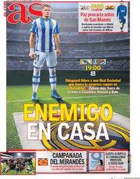 capa Jornal As de 6 fevereiro 2020